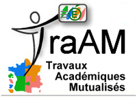 Publication des TRAAM 2014-2015