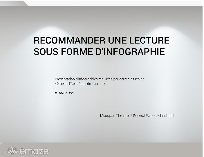 recommander une lecture infographies