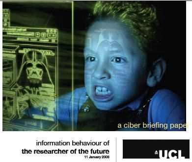Information behaviour of the researcher of the future