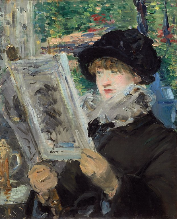 Édouard Manet. Woman Reading. 1879/80. Art Institute Chicago
