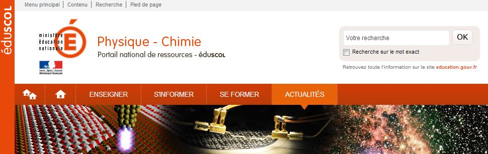 Portail Physique-Chimie