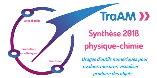 Synthèse interactive TraAM physique-chimie 2017-2018