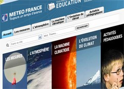 Ecran Meteo Education
