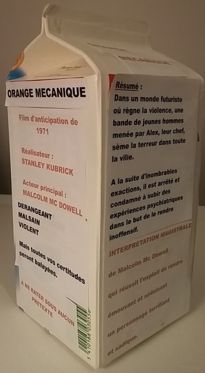critique orange mécanique 2