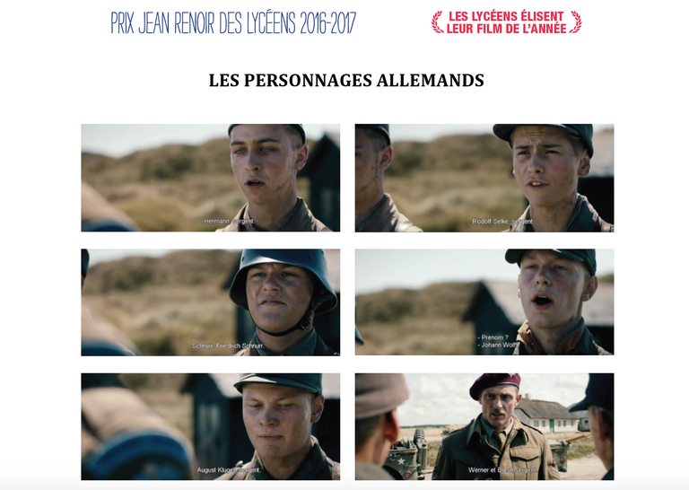 oublies personnages
